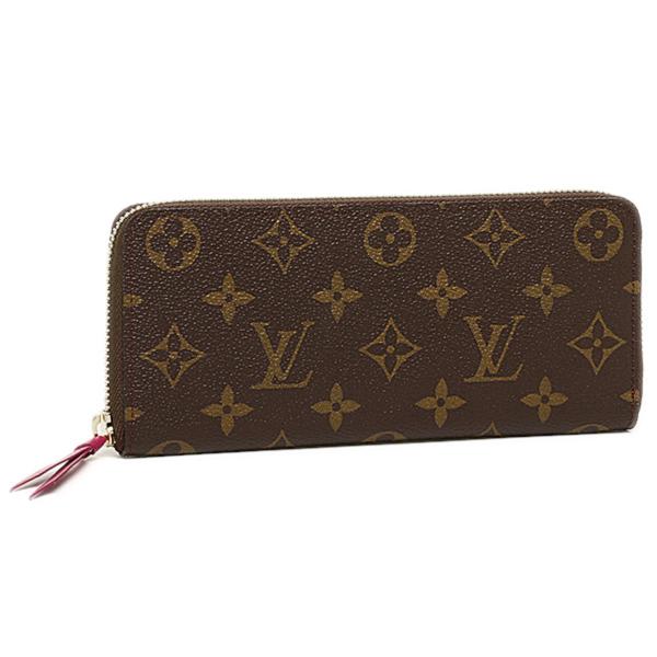 official photos 14192 5cde3 Louis Vuitton wallet LOUIS VUITTON M60742 モノグラムポルトフォイユ Clement's long  wallet fuchsia