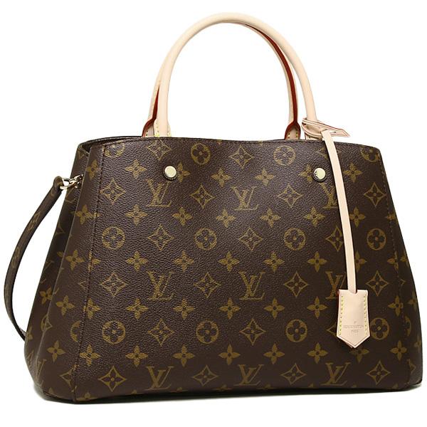 Louis Vuitton bag LOUIS VUITTON M41056 Monogram Montaigne MM tote bag