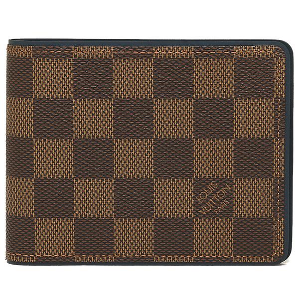 Damier Louis Vuitton wallets LOUIS VUITTON N63167 wallet multiple two bi-fold wallet