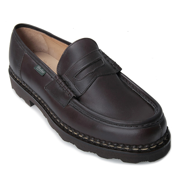Paraboot loafers mens Paraboot 099413 REIMS NUIT Lance shoe CAFE