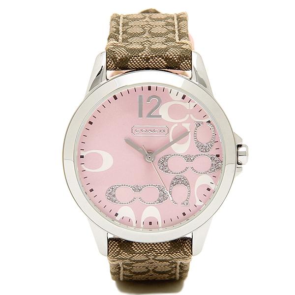 COACH コーチ 腕時計 レディース 14501621 クラシックNEW CLASSIC SIGNATURE ニュークラシックシグネチャー 時計/ウォッチ ピンク
