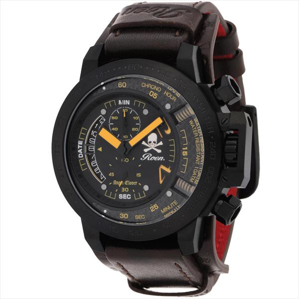 エンジェルクローバー 時計 メンズ ANGEL CLOVER TC48ROY2 ステンレス/カーフ革/ミネラルガラス 10気圧防水 腕時計 ウォッチ ブラック