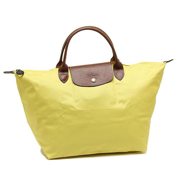 Longchamp bags LONGCHAMP 1623 089 174 LE PLIAGE pliage M TOP HANDLE BAG HANDBAG LEMON