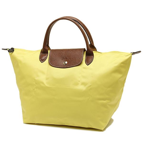 출장 가방 LONGCHAMP 1623 089 174 LE PLIAGE プリアージュ TOP HANDLE BAG M 핸드백 LEMON