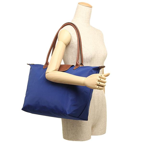Longchamp bags LONGCHAMP 1899 089 683 LE PLIAGE pliage SHOULDER BAG L tote bag BLUE