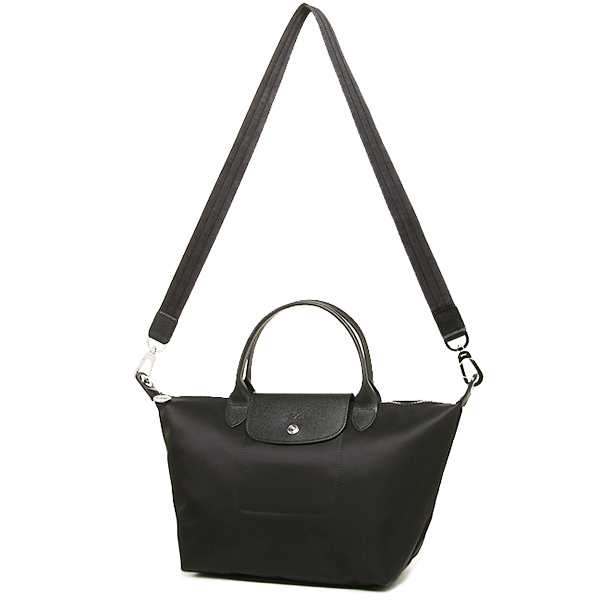 1512 578 001 ロンシャンプリアージュネオバッグ Longchamp Le Pliage Neo Tote Bag Black