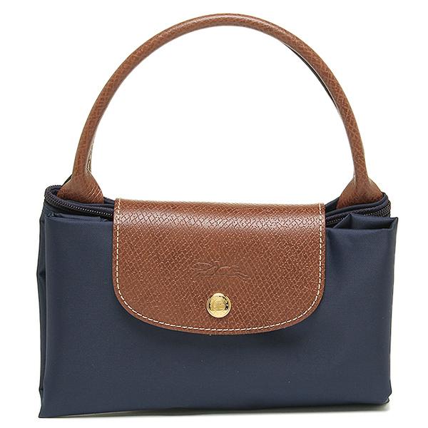 Longchamp tote bags pliage LONGCHAMP 1623 089 556 pliage M folding handbag  NAVY Navy