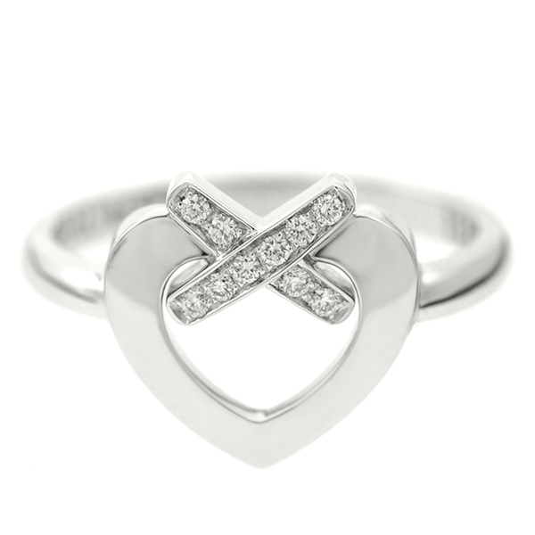 Chaumet rings ladies CHAUMET 082229 LINES DU COEUR ring silver