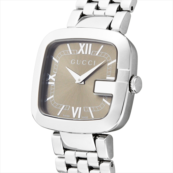 Gucci watches ladies GUCCI YA125413 G-GUCCI watches Watch Silver / Brown