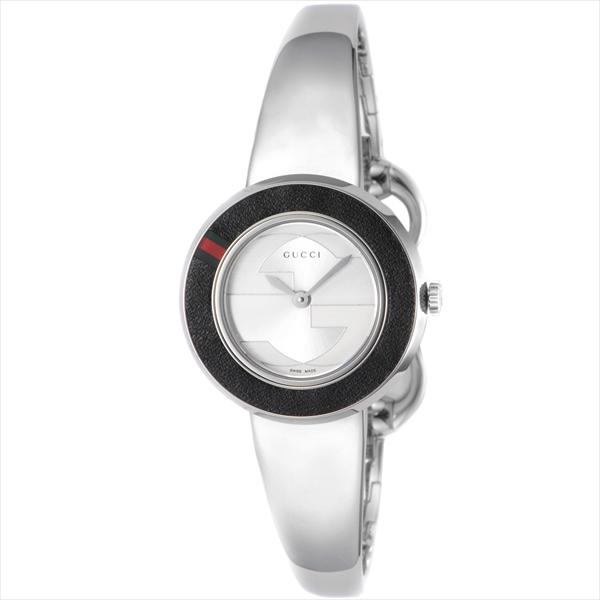 グッチ 時計 レディース GUCCI YA129516-SET-BKGBG Uプレイ 付替用革ベルト&ベゼルセット 腕時計 ウォッチ シルバー/ベージュ