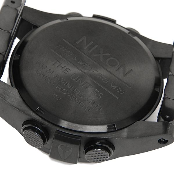 닉슨 시계 유닛 여성용 NIXON A360032 A360-032 THE UNIT 워치/시계 블랙