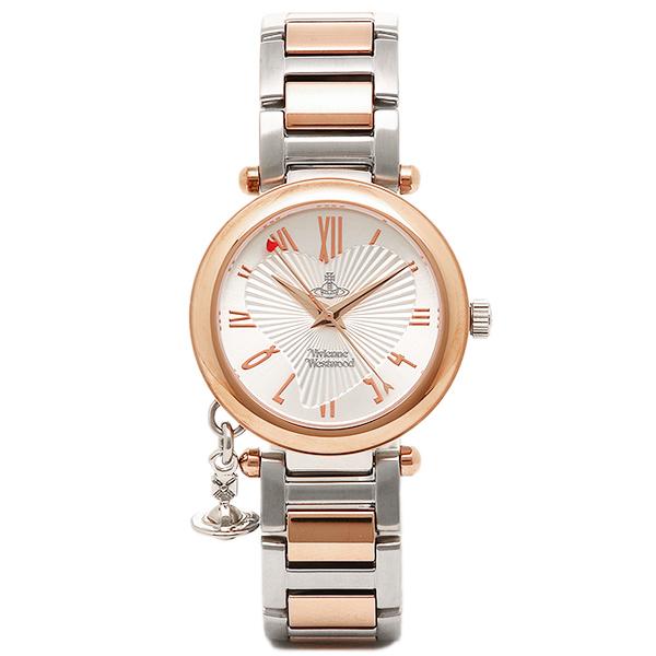 ヴィヴィアンウエストウッド 腕時計 VV006RSSL ORB オーブ シルバー/ピンクゴールド レディースウォッチ