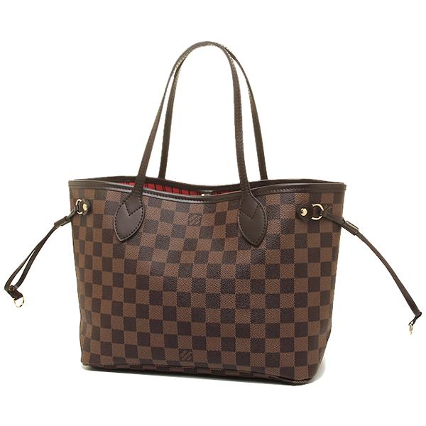 7e862953b ... Louis Vuitton bag LOUIS VUITTON N41359 Damier neverfull PM tote bag  Damier ...
