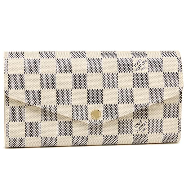 ルイヴィトン 財布 LOUIS VUITTON N63208 ダミエ・アズール ポルトフォイユ・サラ 長財布 ダミエアズール