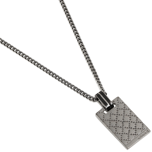 gucci necklace mens. gucci necklace mens / womens gucci 341899 j8410 8131 diamantissima pendant silver