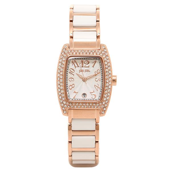 フォリフォリ 時計 FOLLI FOLLIE 腕時計 レディース WF5R135BDS ピンクゴールド/シルバー/ホワイト ウォッチ