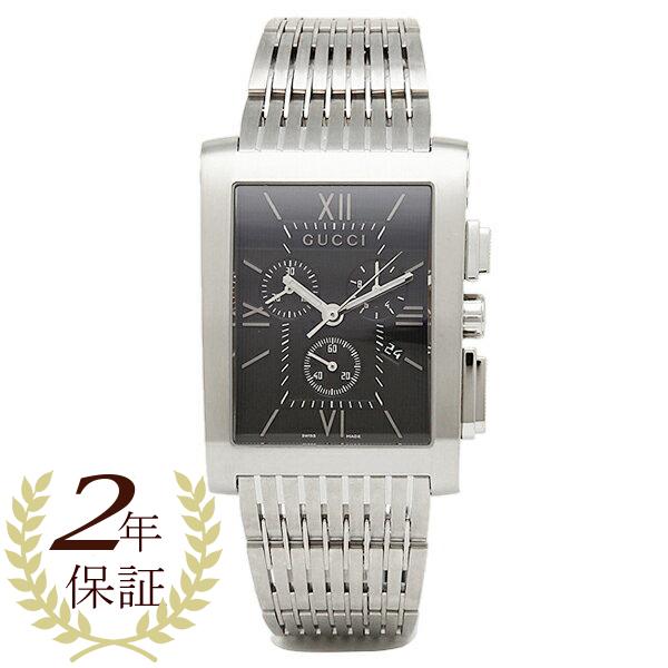 Gucci watch mens GUCCI YA086309 G Metro watch Watch Black / Silver