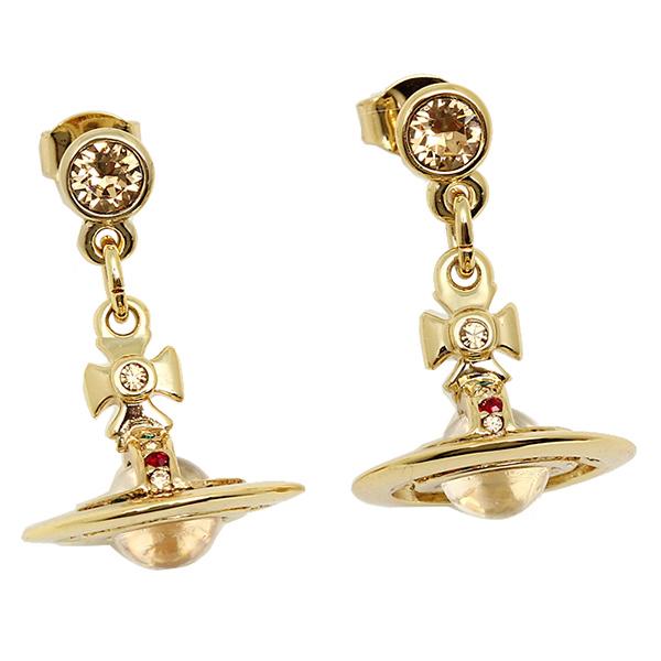 ヴィヴィアンウエストウッド ピアス レディース Vivienne Westwood 1467-14-01 ニュータイニーオーブイヤリング ゴールド