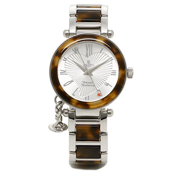 ヴィヴィアンウエストウッド 腕時計 VV006SLBR ORB オーブ シルバー/マーブル レディースウォッチ