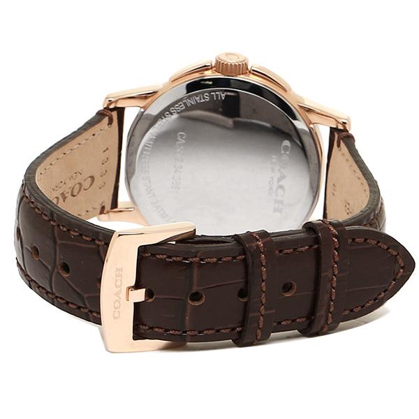 【new0615】 コーチ ブラウン/ 腕時計 ニュークラシックシグネチャー COACH 14000047 時計 シルバー ペアウォッチ メンズ/ レディース ウォッチ