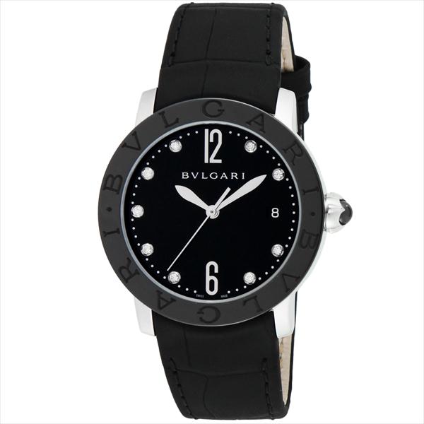 ブルガリ 時計 レディース BVLGARI BBL37BSBCLD/9 ブルガリブルガリ 自動巻き 腕時計 ウォッチ ブラック【new0617】