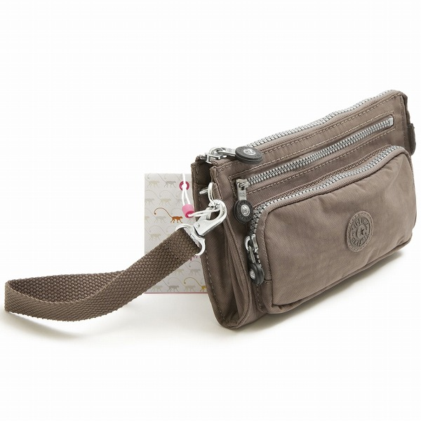 Kipling wallet KIPLING K13341 757 UKI wallet MONKEY BROWN