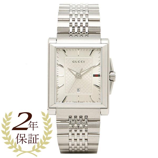 eb7cc4354d9 1andone  Gucci watch mens GUCCI YA138403 watches Watch Silver ...