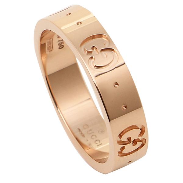 GUCCI グッチ 指輪 リング アクセサリー グッチ グッチ GGアイコンスィン バンドリング アクセサリー/指輪 152045 J8500 5702 GG ICON THIN BAND RING ピンクゴールド 男女兼用 メンズ/レディース