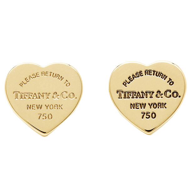 Tiffany Earrings Co 23900351 Rtt Return To Heart Mini 18 K Yellow Gold
