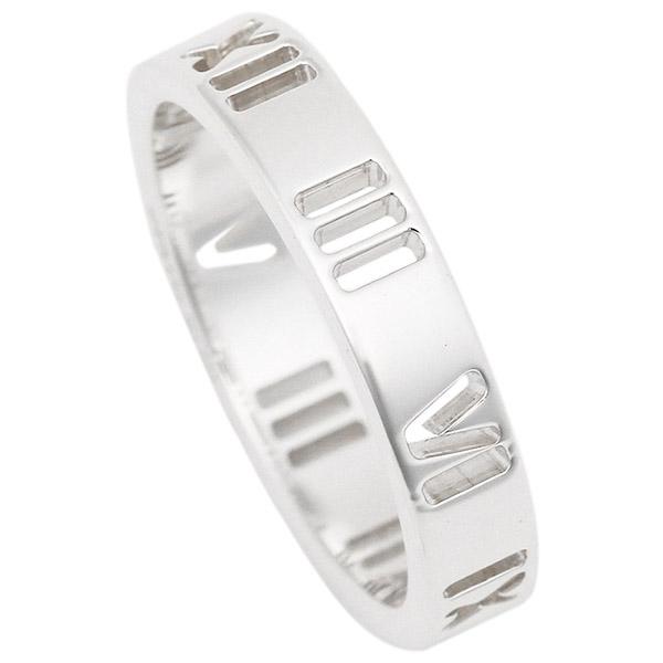 TIFFANY&Co. リング アクセサリー ティファニー アトラス ナローリング 指輪 シルバー