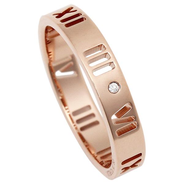 TIFFANY&Co. TIFFANY & Co. リング アクセサリー 指輪 ティファニー 30480643 30480716 30480694 30480589 30480651 18K アトラス ダイヤモンドリング アクセサリー 指輪 ローズゴールド