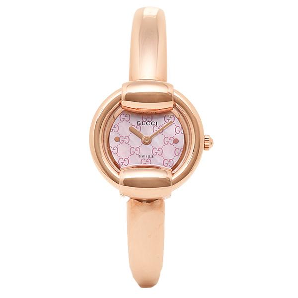 グッチ 腕時計 GUCCI YA014516 1400シリーズ バングルウォッチ ピンク/ピンクゴールド コパー レディースウォッチ