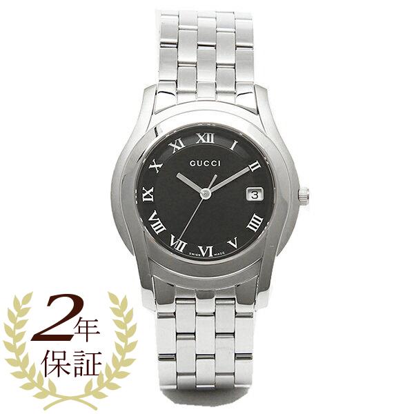 グッチ 時計 GUCCI 腕時計 YA55302MSS BLK Gクラス ブラック/シルバー メンズ 腕時計 ウォッチ WATCH