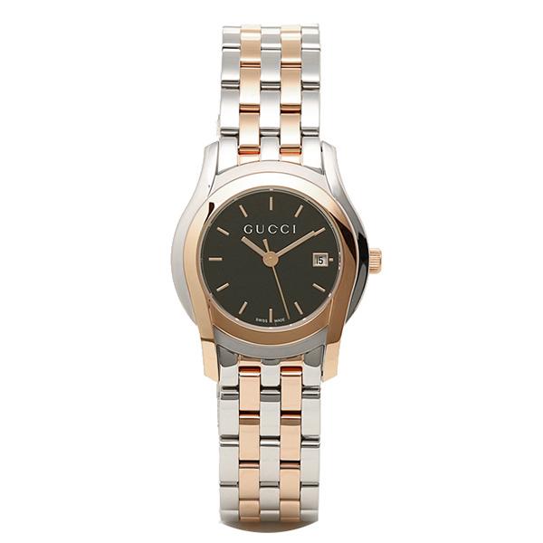 グッチ 時計 レディース GUCCI YA055537 Gクラス 腕時計 ウォッチ ブラック/シルバー/ピンクゴールド