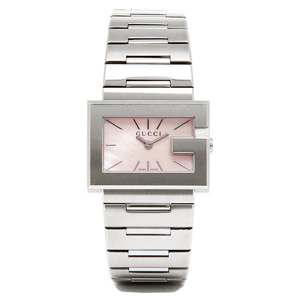 グッチ 時計 レディース GUCCI YA100518 Gレクタングル 腕時計 ウォッチ ピンクパール/シルバー