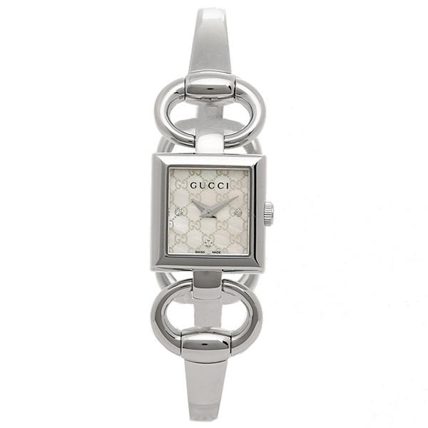 グッチ 腕時計 GUCCI YA12517 トルナブォーニ レディースウォッチ ホワイトパール