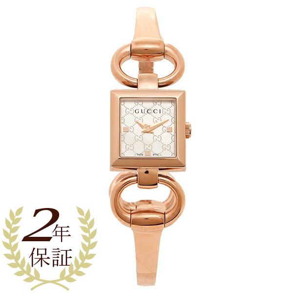 グッチ 時計 レディース GUCCI YA120519 トルナヴォーニ 腕時計 ウォッチ シルバー/ピンクゴールド