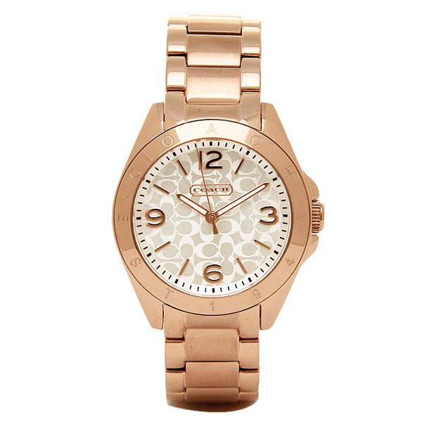コーチ 時計 レディース COACH 14501780 トリステン 腕時計 ウォッチ シルバー/ピンクゴールド【new0807】