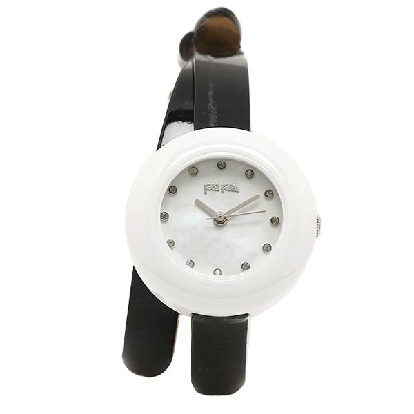 フォリフォリ 時計 レディース FOLLI FOLLIE WF13F030SSK-BK HEART4HEART ハートフォーハート 腕時計 ウォッチ ブラック/ホワイト