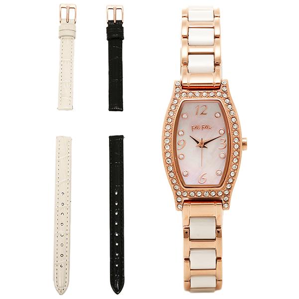 フォリフォリ 時計 レディース FOLLI FOLLIE WF14B022BSW WINTER WISHES ウィンターウィッシーズ 腕時計 ウォッチ ホワイト/ゴールド