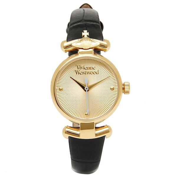 ヴィヴィアンウエストウッド 時計 レディース VIVIENNE WESTWOOD VV090GDBK MAIDA マイダ 腕時計 ウォッチ ゴールド/ブラック【new0707】
