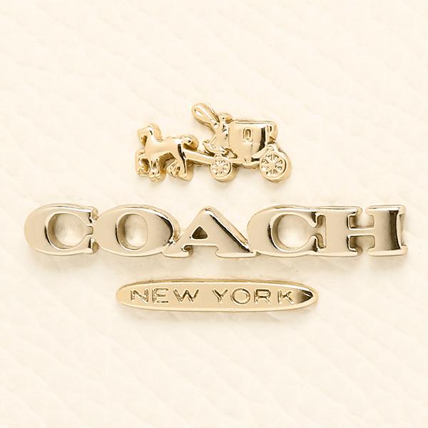 코치 지갑 아울렛 COACH F52846 IMDZZ 럭셔리 바이 컬러 미디 움 지퍼 접는 지갑