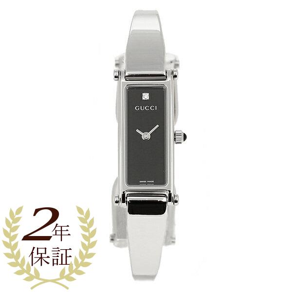 GUCCI グッチ YA015555 1500シリーズ ブラック/シルバー レディース 腕時計 ウォッチ