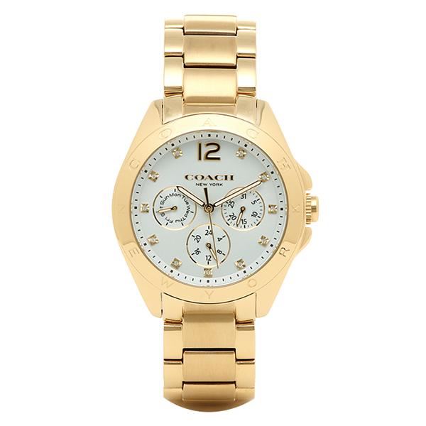 COACH コーチ 腕時計 レディース 14502237 ゴールド