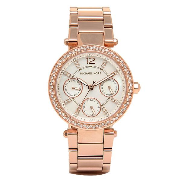 マイケルコース 時計 レディース MICHAEL KORS MK5616 MK5616622 PARKER MINI 腕時計 ウォッチ ピンクゴールド/ホワイトパール