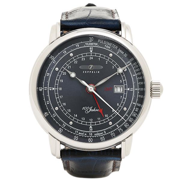 ZEPPELIN ツェッペリン 時計 メンズ 7646-3 SPECIAL EDITION 100YEARS 100周年記念モデル 腕時計 ウォッチ ブルー/シルバー