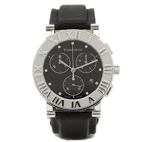 ティファニー 時計 レディース TIFFANY&Co. Z0007.32.10A10B41A ATLAS CHRONO 腕時計 ウォッチ ブラック