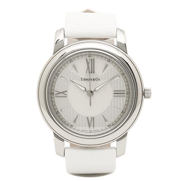 ティファニー 時計 レディース/メンズ TIFFANY&Co. Z0046.17.10A91A40A MARK 腕時計 ウォッチ シルバー/ホワイトパール