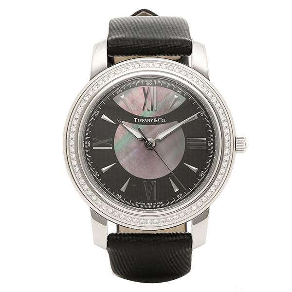 ティファニー 時計 レディース/メンズ TIFFANY&Co. Z0046.17.10B90A40A MARK 腕時計 ウォッチ ブラック/ブラックパール