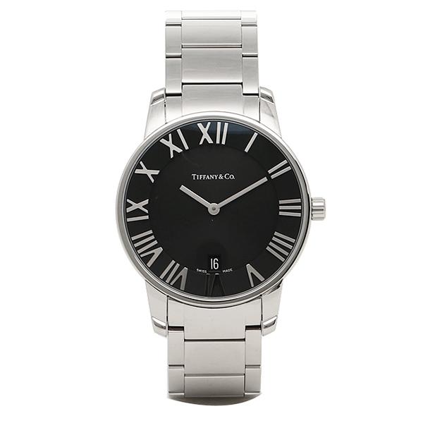 ティファニー 時計 メンズ TIFFANY&Co. Z1800.11.10A10A00A ATLAS DOME アトラス ドーム 腕時計 ウォッチ シルバー/ブラック